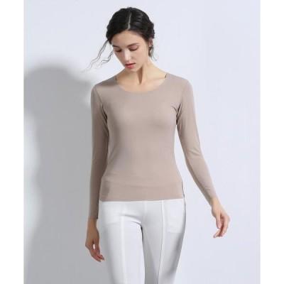 tシャツ Tシャツ シームレスインナー[COOL] U型Teeシャツ