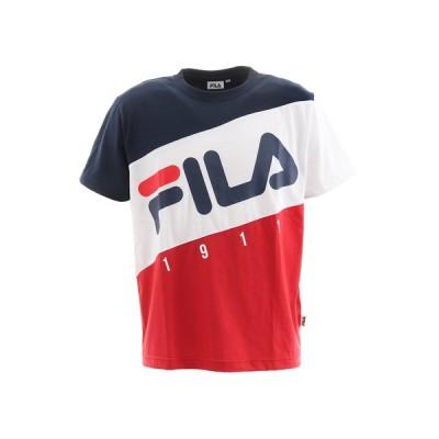 フィラ(FILA) 切替半袖Tシャツ FM5104-20 (メンズ)