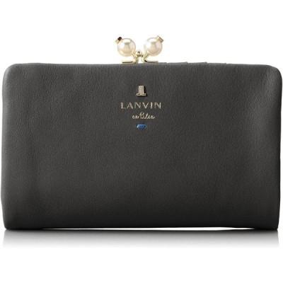 [ランバンオンブルー] 財布 【新色】シャペル レディース ブラック
