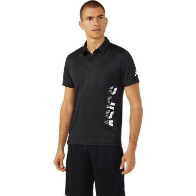 メール便送料無料 アシックス Tシャツ・ポロシャツ CAポロシャツ メンズアパレル 2031C218-001