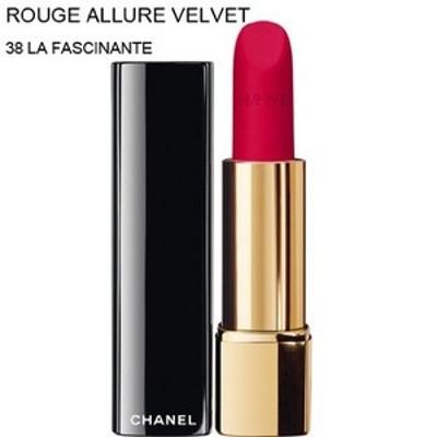 CHANEL-Lipstick ROUGE ALLURE VELVET (38 LA FASCINANTE) (parallel imported ite...