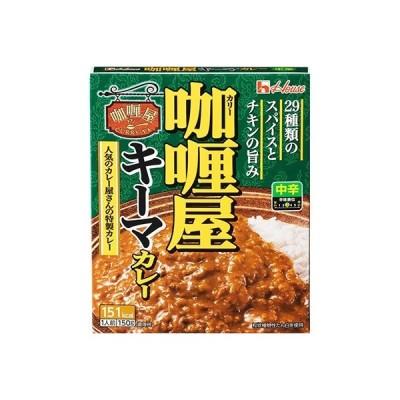 袋井市 ふるさと納税 ハウス食品 レトルト カリー屋キーマカレー 【中辛】 150g×30食