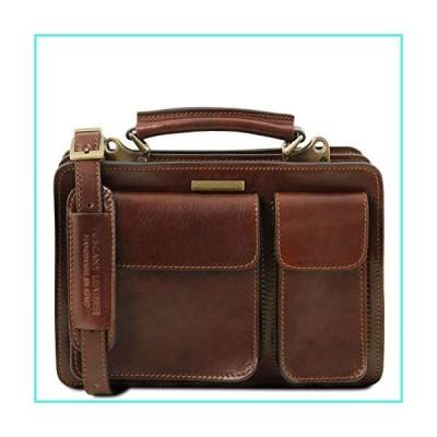 【新品】Tuscany Leather Tania Leather lady handbag Brown(並行輸入品)