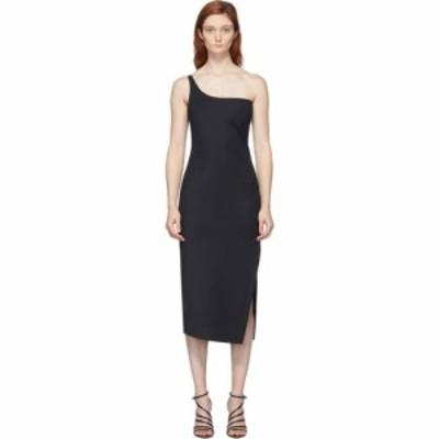 コぺルニ Coperni レディース パーティードレス カクテルドレス ミドル丈 ワンピース・ドレス Black Motion Cocktail Midi Dress Black