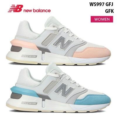 ニューバランス レディース スニーカー B WS997 GFJ GFK New Balance 靴