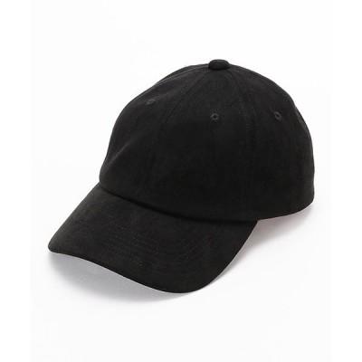 帽子 キャップ フェイクスエード キャップ