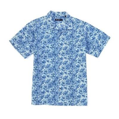 ダニエル クレミュ メンズ シャツ トップス Kaleidoscope Print Short-Sleeve Woven Camp Shirt