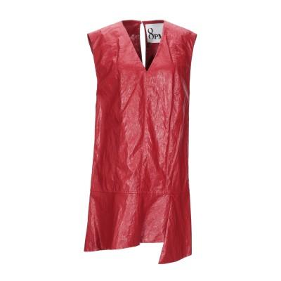 8PM ミニワンピース&ドレス レッド S ポリウレタン 63% / レーヨン 26% / ポリエステル 5% / コットン 4% / 金属 2%