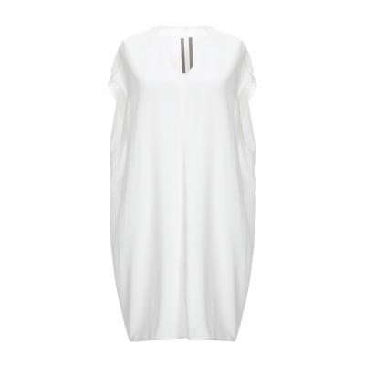 リック オウエンス RICK OWENS ミニワンピース&ドレス アイボリー 40 シルク 100% ミニワンピース&ドレス