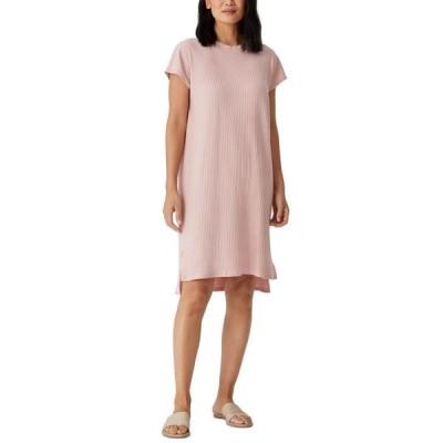 エイリーンフィッシャー レディース ワンピース トップス Ribbed Sheath Dress