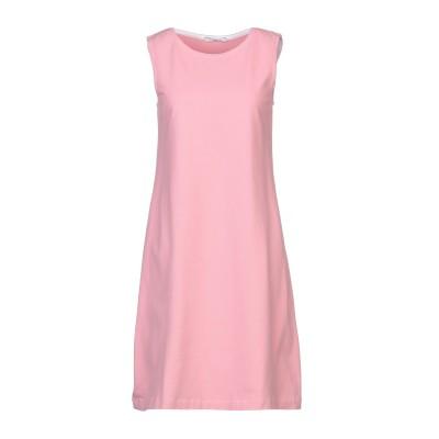 チルコロ 1901 CIRCOLO 1901 ミニワンピース&ドレス ピンク 42 コットン 92% / ポリウレタン 8% ミニワンピース&ドレス