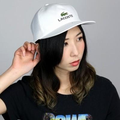ラコステ 春夏 メッシュキャップ メンズ LACOSTE 帽子 キャップ CAP ツイル インターロックウォー
