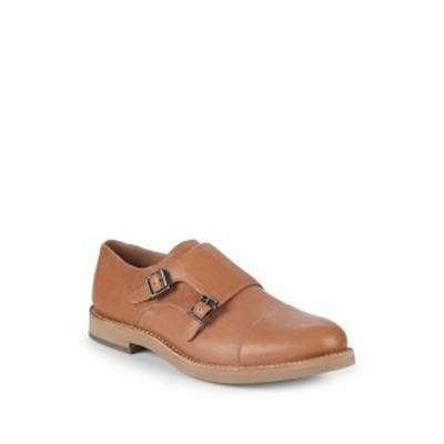 ブルネロクチネリ メンズ ドレスシューズ 革靴 Double Monk-Strap Leather Oxfords