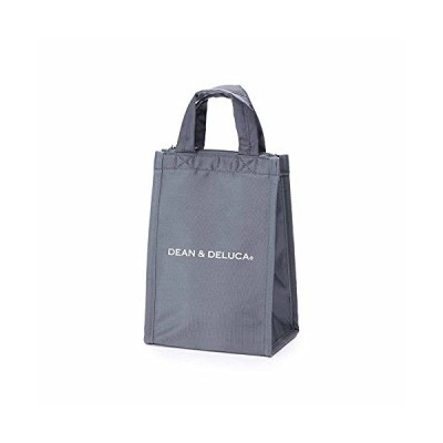 DEAN&DELUCA クーラーバッグ グレーS 保冷バッグ ファスナー付き コンパクト お弁当 ランチバッグ