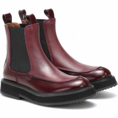 ジョゼフ Joseph レディース ブーツ チェルシーブーツ シューズ・靴 leather chelsea boots Bordeaux