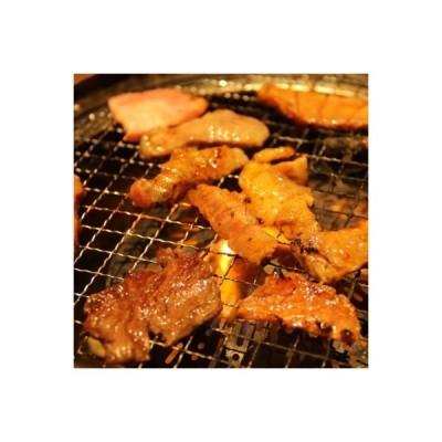 茨城県石岡市名産 弓豚 焼肉セット2.4? (肩ロース焼肉400g×3・バラ焼肉400g×3)