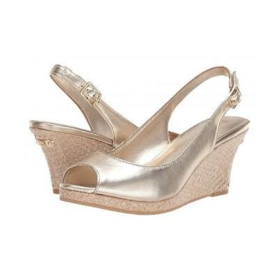 Lilly Pulitzer リリーピューリッツァー レディース 女性用 シューズ 靴 ヒール Gigi Wedge - Gold Metallic 2