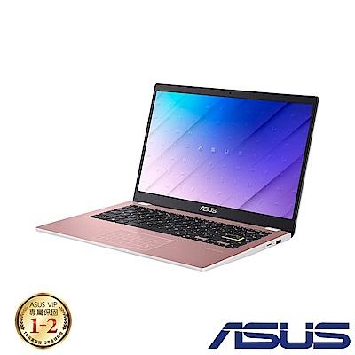 ASUS E410MA 14吋筆電 (N4020/4G/64G eMMC/Win10 HOME S/LapTop/玫瑰金)