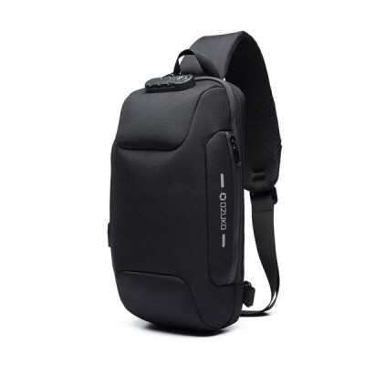 新しい多機能クロスボディバッグ男性のアンチ盗難防止ショルダーメッセンジャーバッグ男性防水ショート旅行胸バッグパック
