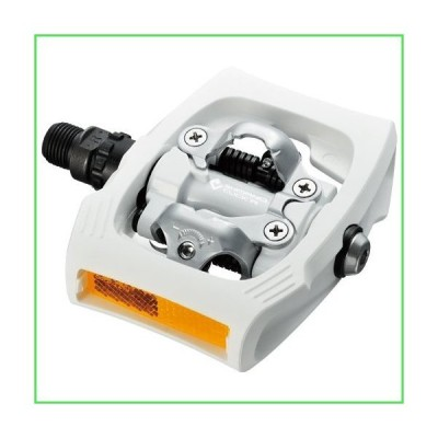 シマノ(SHIMANO) PD-T400 CLICK'R PEDAL 両面SPDペダル ホワイト EPDT400WR
