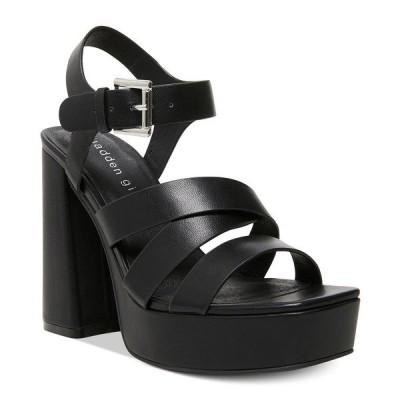 マッデンガール サンダル シューズ レディース Diggit Platform Sandals Black