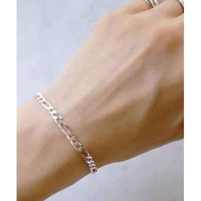 ISOLATION / 【ISOLATION / アイソレーション】Silver925 Figaro Chain Bracelet / フィガロチェーンブレスレット シルバー925 WOMEN アクセサリー > ブレスレット