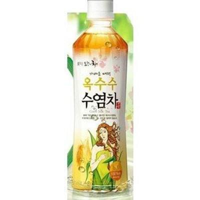 韓国食材*韓国飲み物/ロッテ とうもろこしひげ茶 (ペット) 500ml