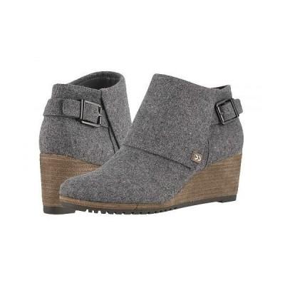 Dr. Scholl's ドクターショール レディース 女性用 シューズ 靴 ブーツ アンクル ショートブーツ Create - Mid Grey