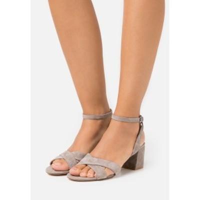 アンナフィールド レディース サンダル シューズ LEATHER - Sandals - grey grey