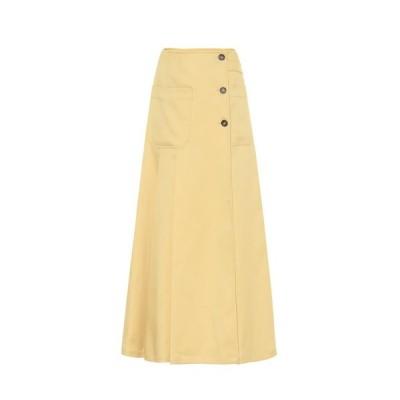 プラン C Plan C レディース ロング・マキシ丈スカート スカート twill maxi skirt Medium Senape