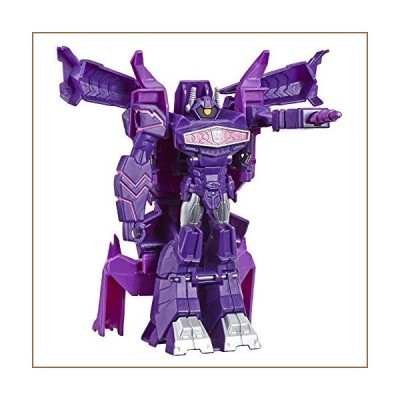 Transformers Toys Cyberverse Action Attackers: 1-Step Changer Shockwave Action Figure -Repeatable Shock Blast Action Attack - for Kids Ages