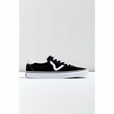 ヴァンズ Vans メンズ スニーカー シューズ・靴 sport core sneaker Black/White