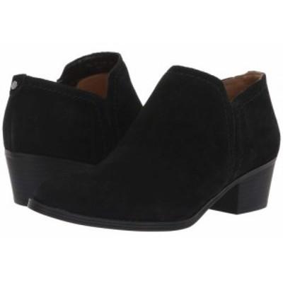 Naturalizer ナチュラライザー レディース 女性用 シューズ 靴 ブーツ アンクルブーツ ショート Zarie Black Suede【送料無料】