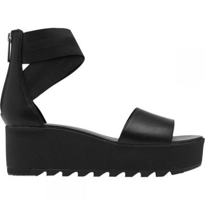 ソレル Sorel レディース サンダル・ミュール アンクルストラップ 厚底 シューズ・靴 Cameron Flatform Ankle Strap Sandal Black