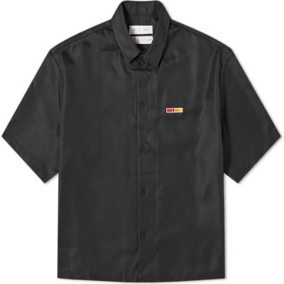リーボック Reebok メンズ 半袖シャツ トップス x Pyer Moss Short Sleeve G Shirt Black