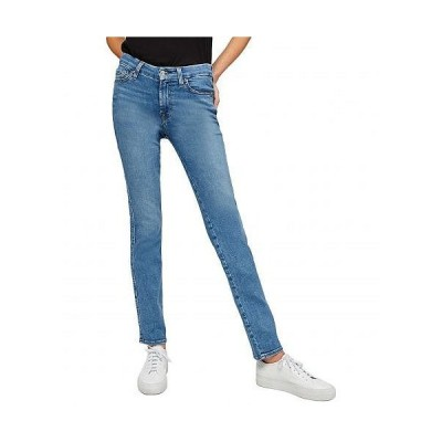 7 For All Mankind セブンフォーオールマンカインド レディース 女性用 ファッション ジーンズ デニム Kimmie Straight in Sunlight Blue - Sunlight Blue
