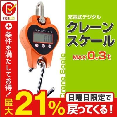 デジタルクレーンスケール 充電式 0.3t