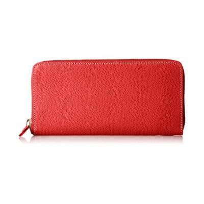 [キタムラ] 長財布 キズが目立ちにくい素材 PH0570 レッド/アイボリーステッチ [赤] 70912