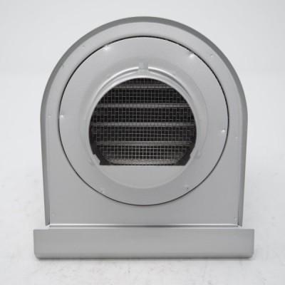 ガラリ 換気口 U型 フード付 防虫網付 ステンレス 75MG テラス バルコニー 下部開放 新築 リフォーム DIY 住宅 外壁換気 自然吸排気用品  強制給排気口部品