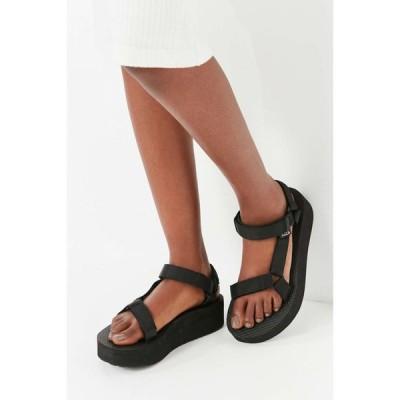 テバ Teva レディース サンダル・ミュール シューズ・靴 universal flatform sandal Black
