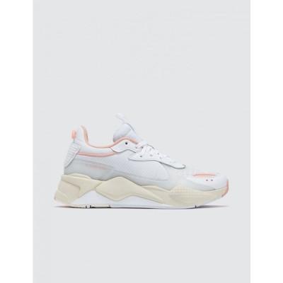 プーマ Puma レディース スニーカー シューズ・靴 RS-X Tech White/Peach