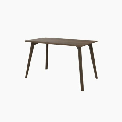 送料無料 ダイニングテーブル (W1200 天板:ウォールナット 脚:ウォールナット) - CROSS