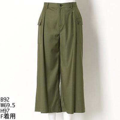 ラクープ(LACOUPE)/【大きいサイズ】サイドポケット ワイドパンツ