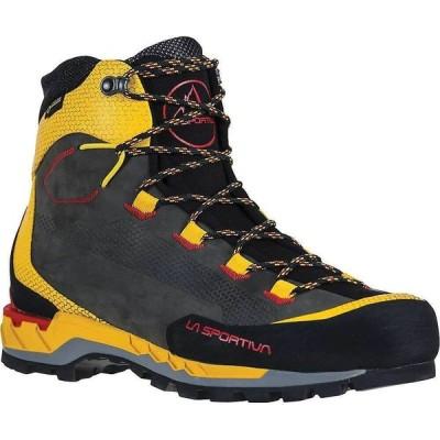 ラスポルティバ La Sportiva メンズ ハイキング・登山 ブーツ シューズ・靴 Trango Tech Leather GTX Boot Black/Yellow
