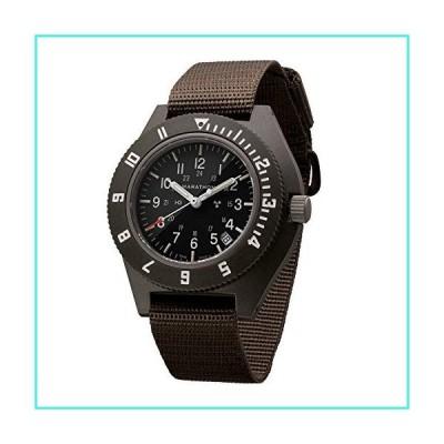 【新品】Marathon Navigator Swiss Made Military Issue Pilot's Watch w/Date, Tritium, Sapphire Crystal, Steel Crown, Battery Hatch, ETA F06 Moveme