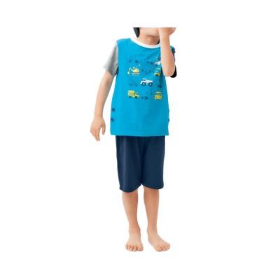 薄くて涼しいおなかが出にくい半袖パジャマ(ジータ/GITA basic)