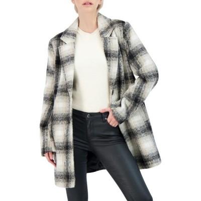 セビー レディース ジャケット&ブルゾン アウター Collection Single Breasted Topper Coat BEIGE/BLAC