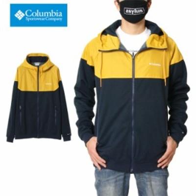 コロンビア COLUMBIA パーカー ジップアップパーカー ウイルキンソンコーブフーディー COLLEGIATE NAVY PM1869