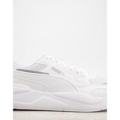 プーマ メンズ スニーカー シューズ Puma X-Ray sneakers in white Puma white-puma white