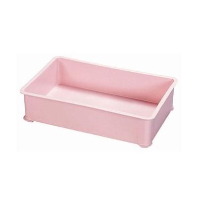 サンコー  PP 大型カラー番重 B型 ピンク(B型)<ピンク>